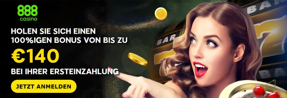 888 Casino Wilkommensbonus