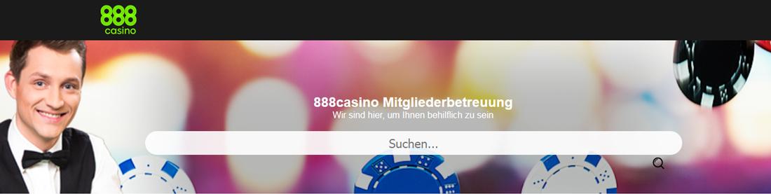 888 Casino Support