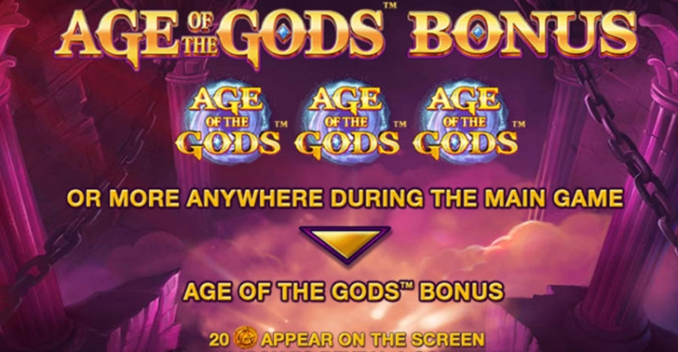 Age of Gods bonus