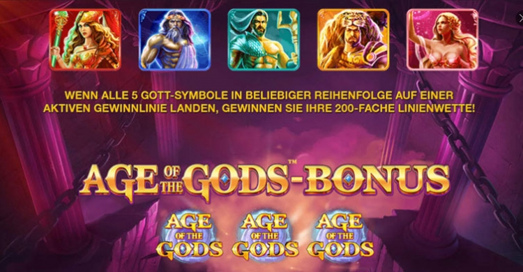 Age of Gods Bonus Feature