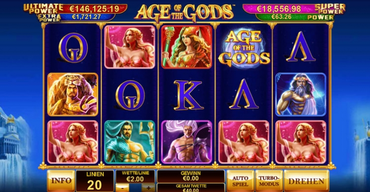 Age of Gods online Slot