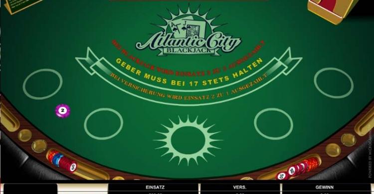 Atlantic City Blackjack Vorschau