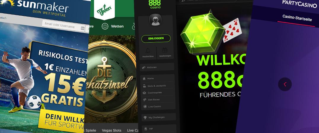 Auswahl Online Casinos