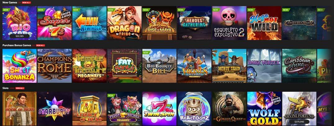 betsafe casino games