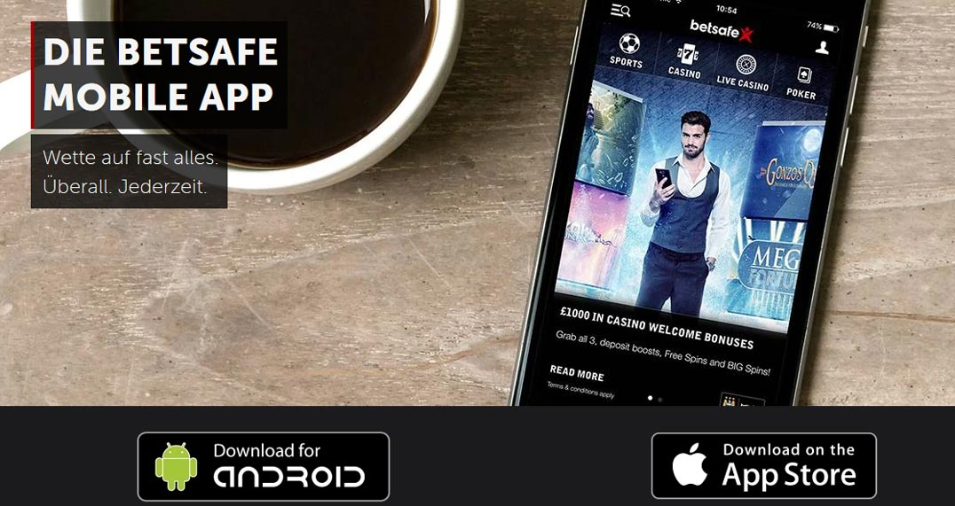 Betsafe mobile Banner