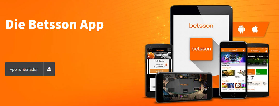 Betsson Mobile Apps