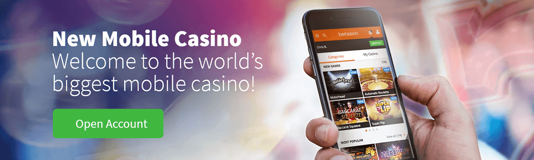 Betsson Mobile Casino