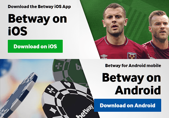 Download Betway Casino App