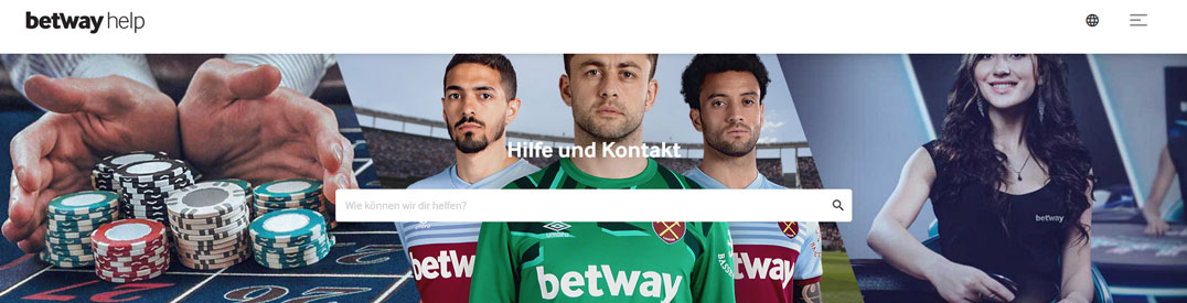betway Support Banner