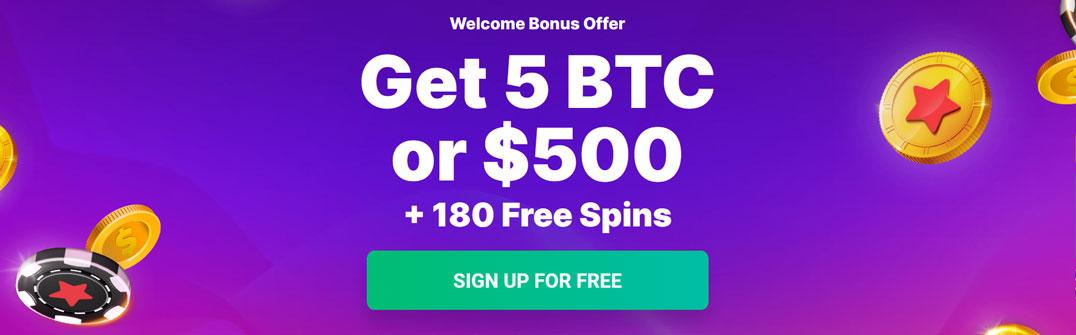 Bitstarz Bonus Banner
