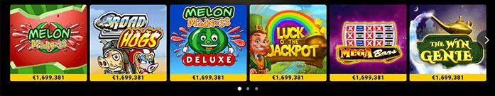 Bwin jackpot games