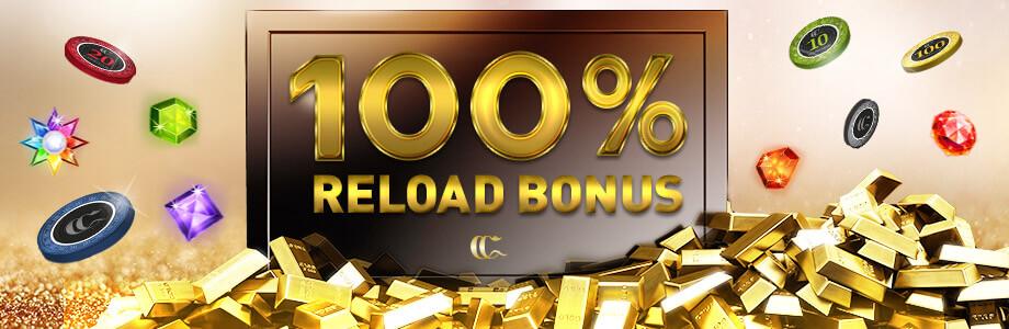 100% Reload Bonus