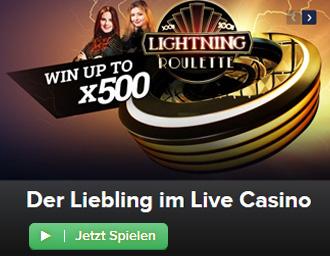 CasinoEuro Lightning Roulette Banner