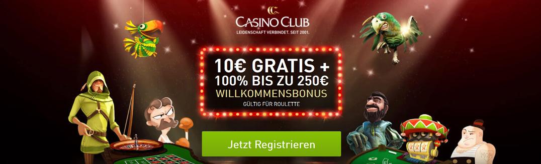 casinoclub mobile bonus