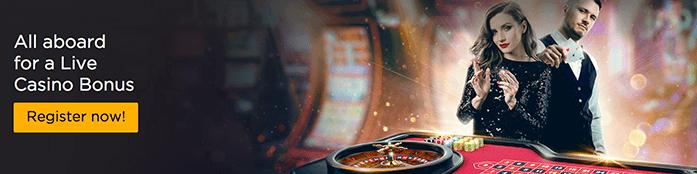 Casino Cruise Live Bonus