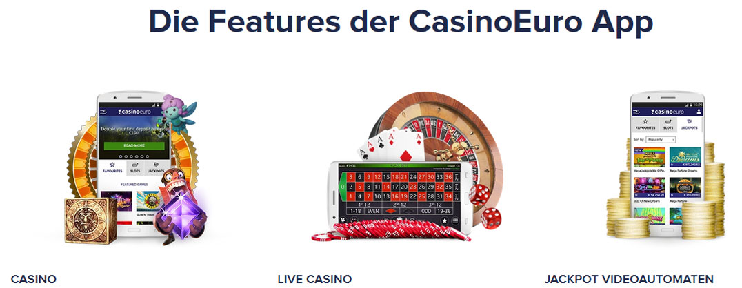 CasinoEuro App Angebot