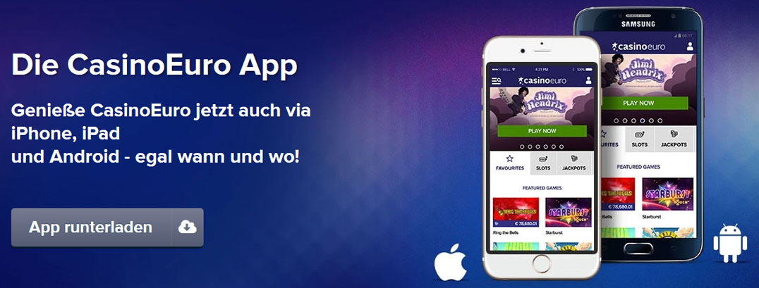 CasinoEuro Apps