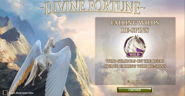 Divine Fortune bonus