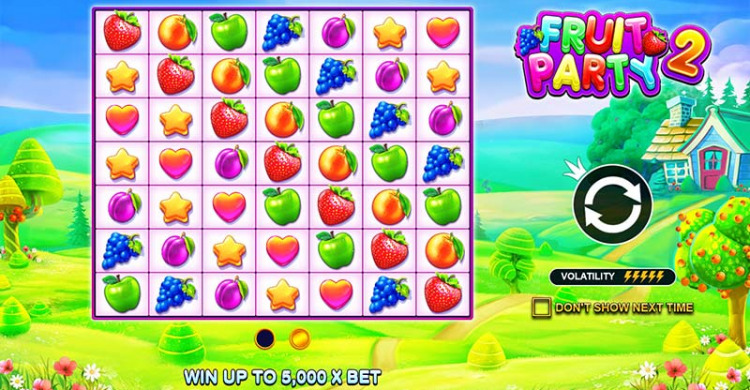 Fruit Party 2 Features