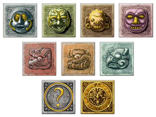 Gonzo's Quest Symbole