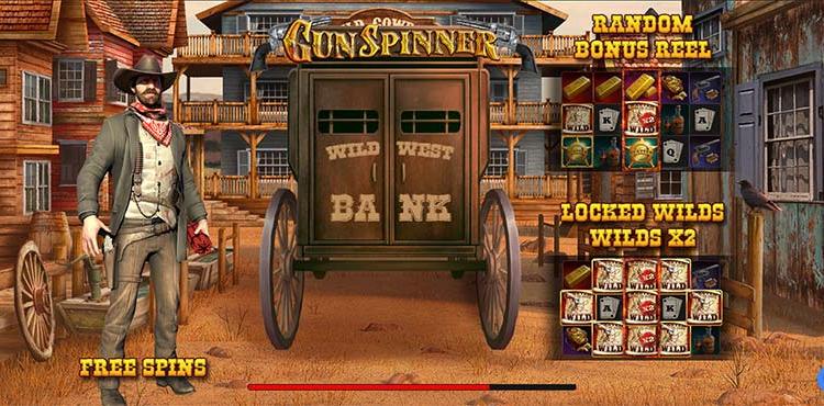Gun Spinner Features