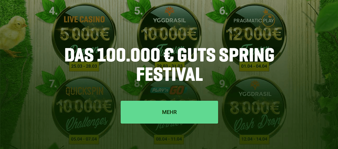 Guts Casino Spring Festival