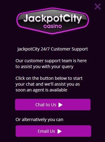 Jackpot City Casino Support With A 24 7 Customer Service Casinos