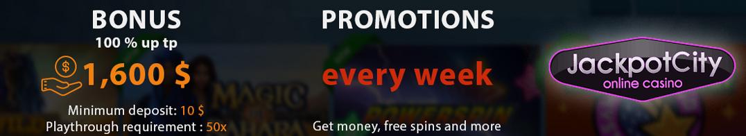 Jackpotcity Bonus Terms