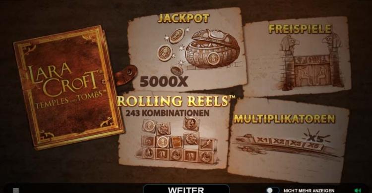 Lara Croft Vorschau Features