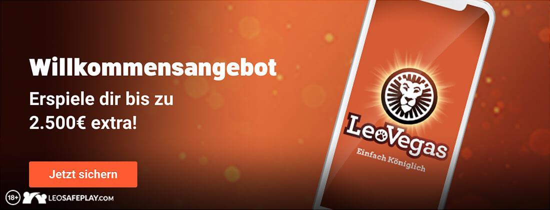Leo Vegas Bonus Banner