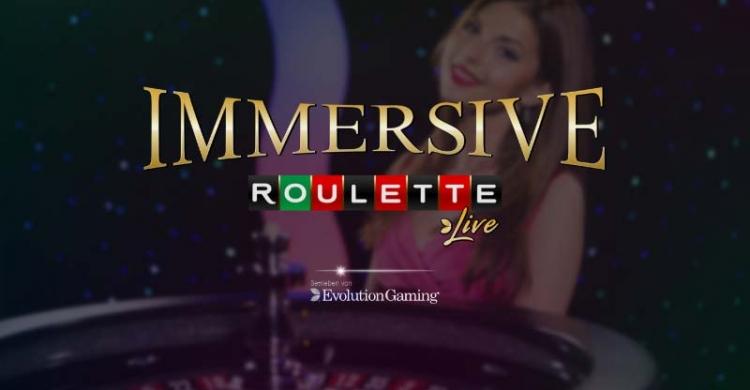 Live Immersive Roulette Vorschau