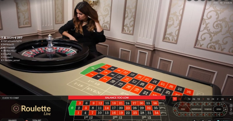 live roulette preview