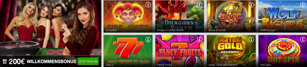 Magic Red Casino Spiele