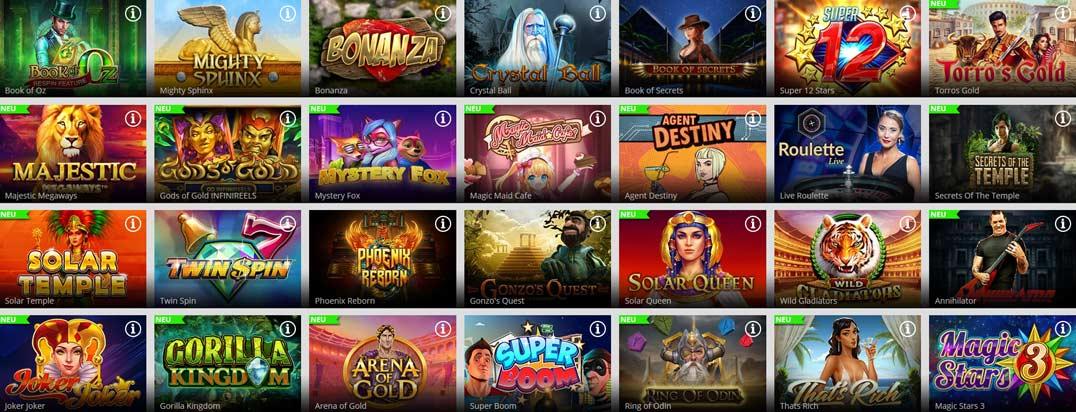 Magic Red Casino Spiele