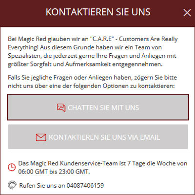 Magic Red Kontakt