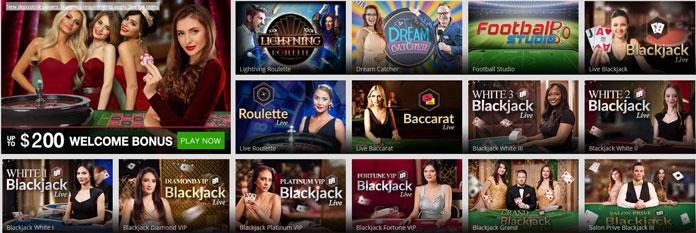Magic Red live casino