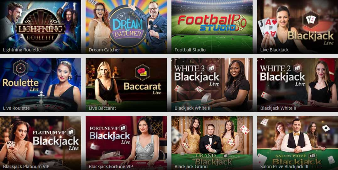 Magic Red livecasino games