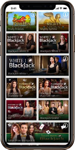 MagicRed Casino mobile
