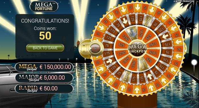 Mega Fortune Bonus