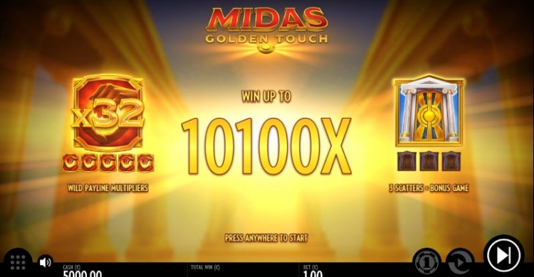 Midas Golden Touch preview feature