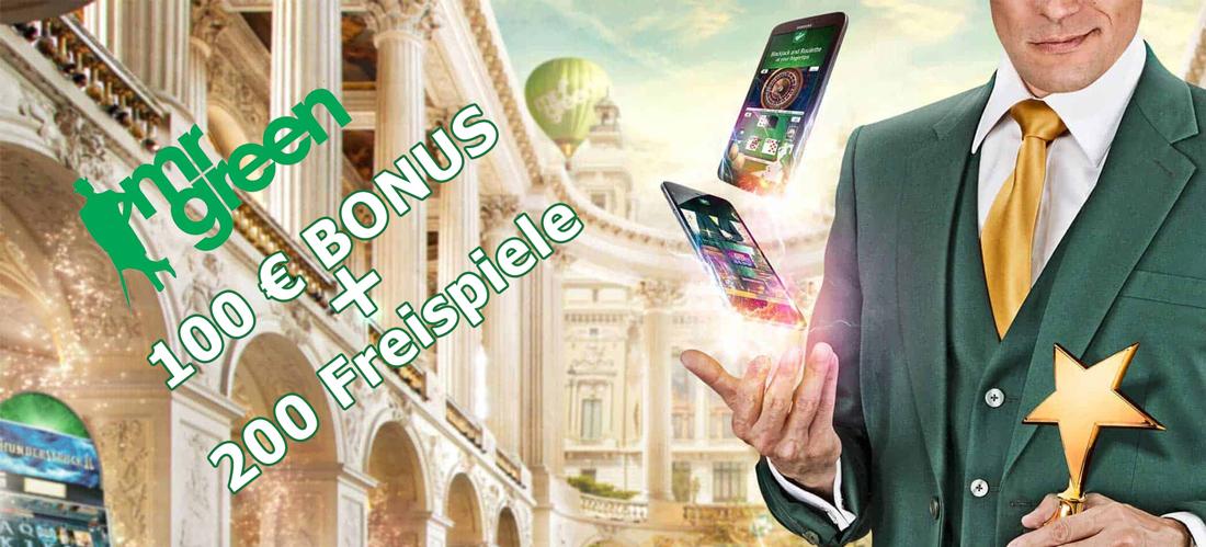 Mr Green Casino Mobile Bonus