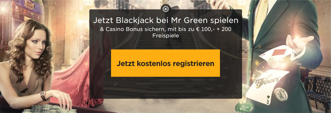 MrGreen Blackjack Banner