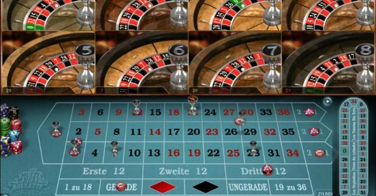 Multi Wheel Roulette Vorschau