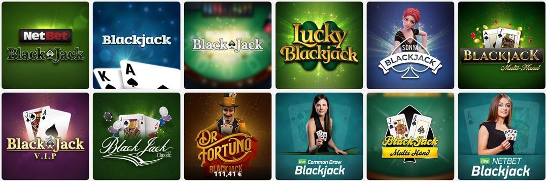 NetBet Blackjack Vorschau