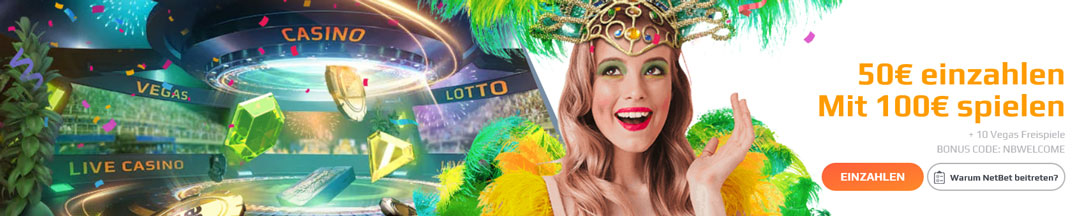 NetBet Casino Bonus 2020