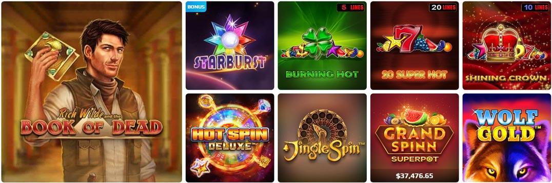 NetBet games
