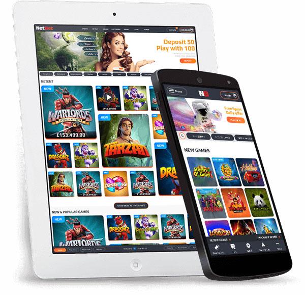 NetBet mobile Spiele