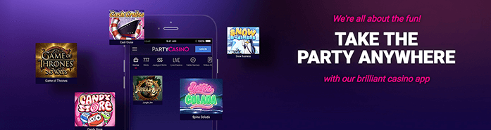 Party Casino Mobile Banner