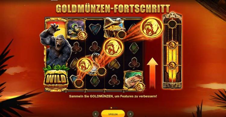 Primate King Vorschau Goldmuenzen