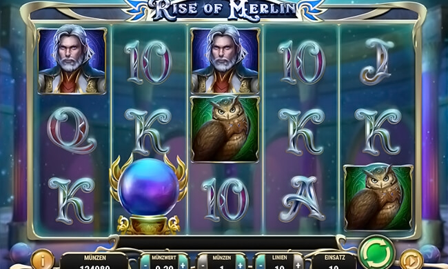 Rise of Merlin Slot